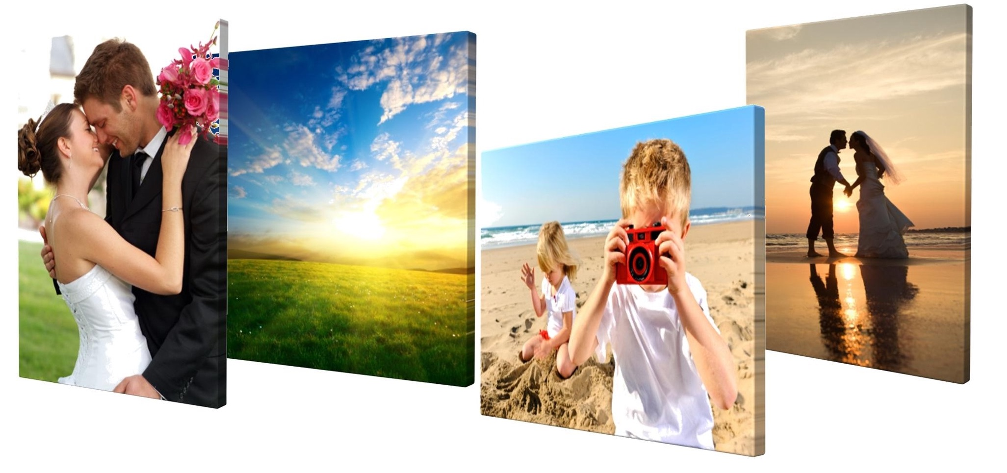 """A3 CANVAS PRINT 12/"""" X 16/"""" Personalised Your Picture Photo on 38mm DEEP Frame"""